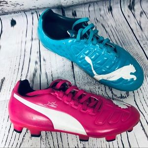 Puma EvoPower World Cup Soccer Cleats Youth 2.5